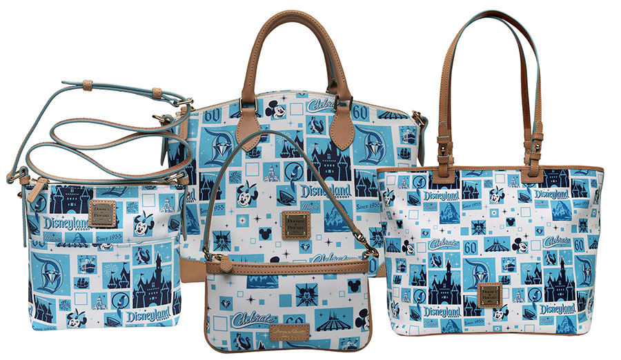 Disneyland Resort Diamond Celebration Dooney Bourke Collection Coming Soon