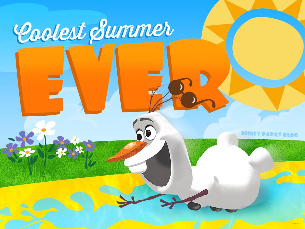 Free Disney Summer Wallpaper: Celebrate Summer With Our Coolest Summer Ever Desktop