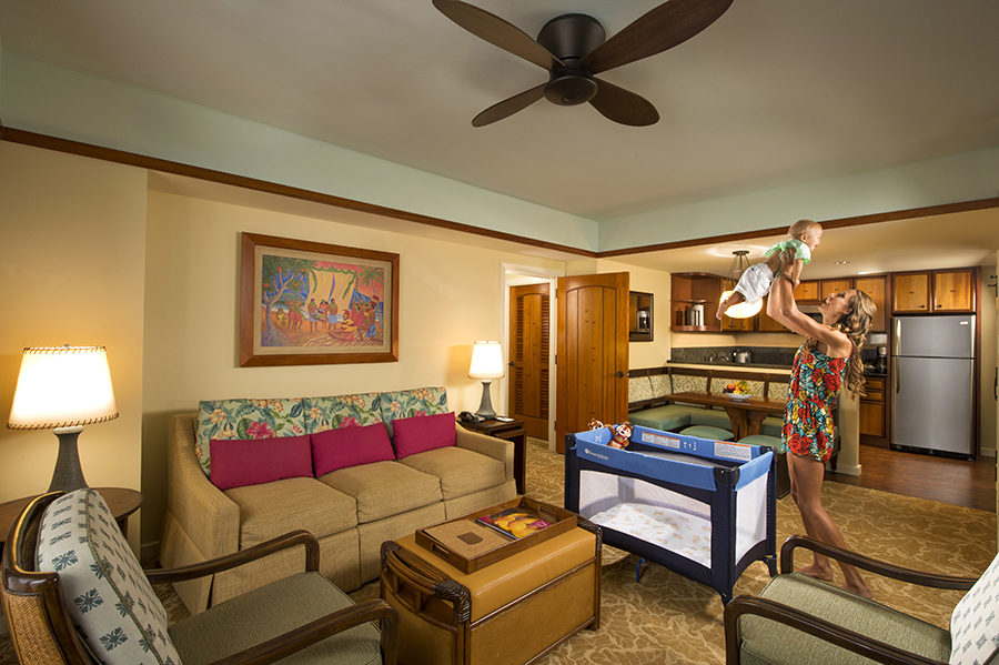 A home away from home at aulani a disney resort spa 2 - 2 bedroom villas near disney world ...