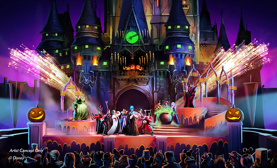 New Show at Mickey's Not-So-Scary Halloween Party Will Cast a ...