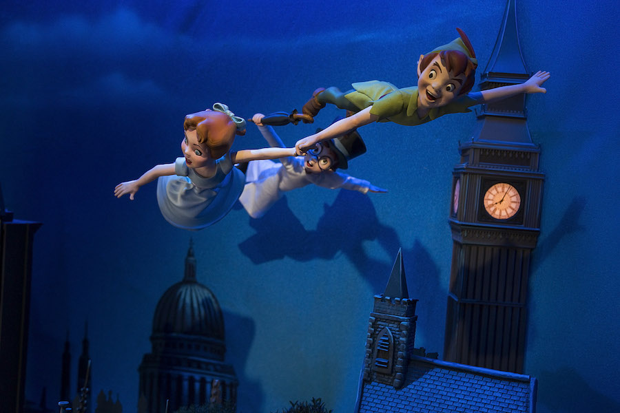 A Closer Look at the New 'Peter Pan' Main Street Enchanted Windows at Disneyland Park