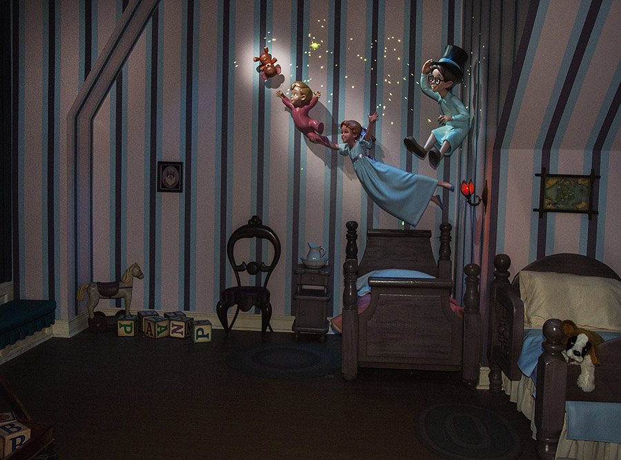 First Look New Magic Added To Peter Pan S Flight At