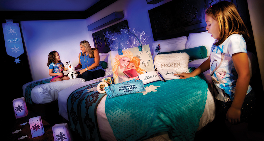 New Gift Packages Bring Frozen To Your Disney Resorts Room