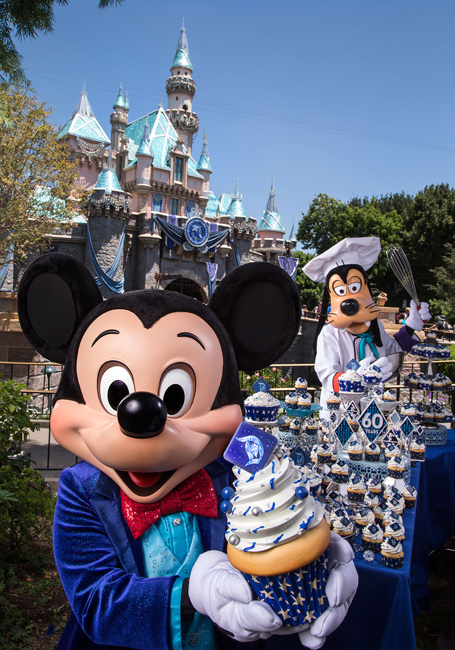 Disneyland 60th anniversary date in Sydney