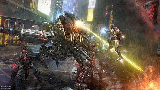 Iron Man Experience Coming to Hong Kong Disneyland