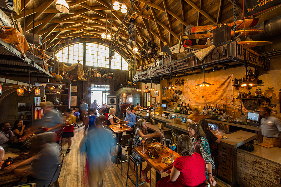 Jock Lindsey S Hangar Bar Now Open At Disney Springs