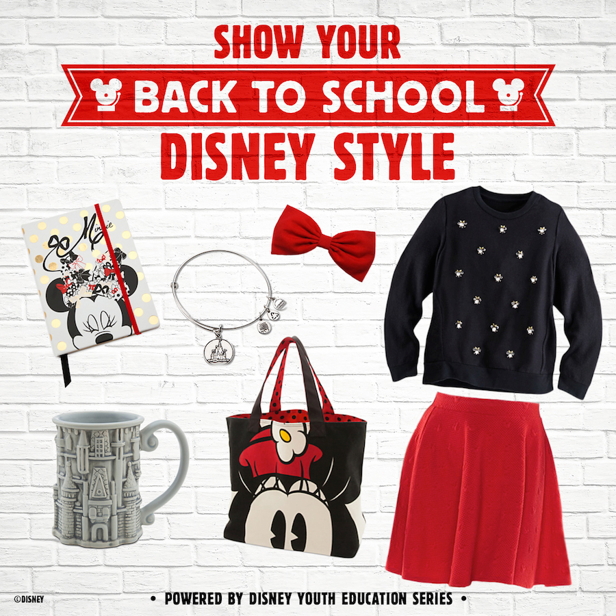 Disney back to school fashion show