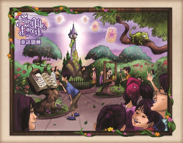 FairyTale Forest - Overall Art