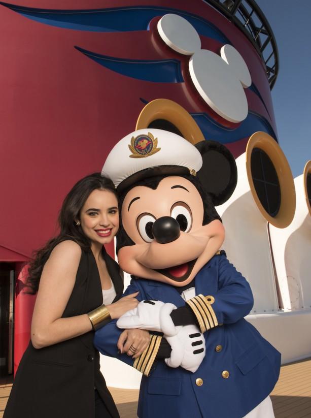 Descendants Star Sofia Carson On The Disney Fantasy Disney Parks Blog
