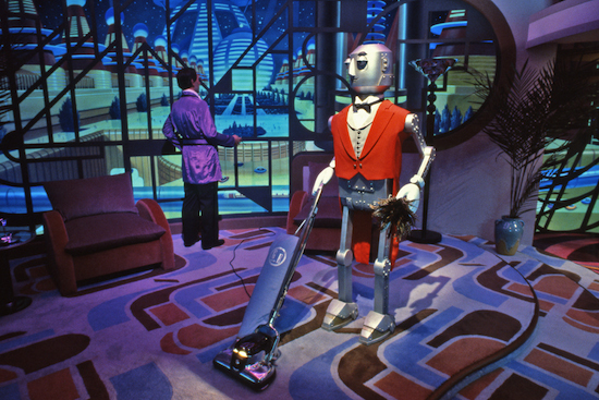 Robot Butler from The Horizons Attraction at Epcot