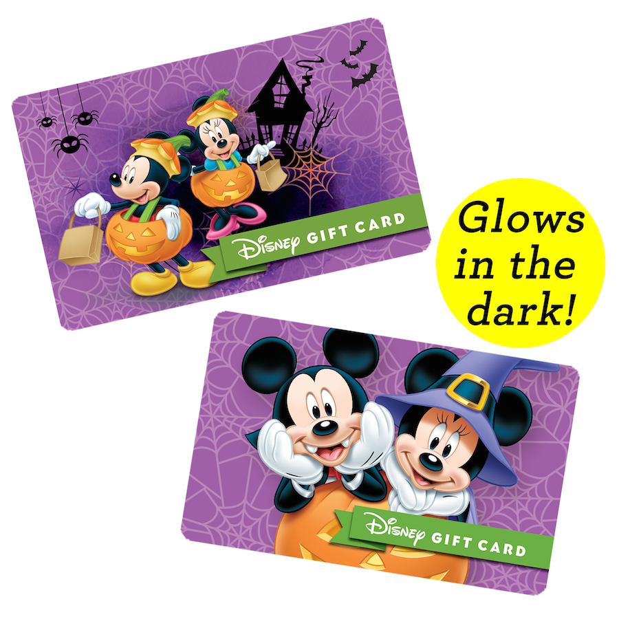 Halloween Disney Gift Cards Now Available | Disney Parks Blog