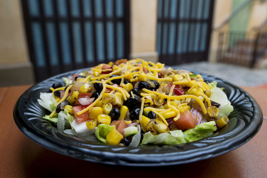 Roasted Corn and Vegetable Salad at Tortuga Tavern in Magic Kingdom Park
