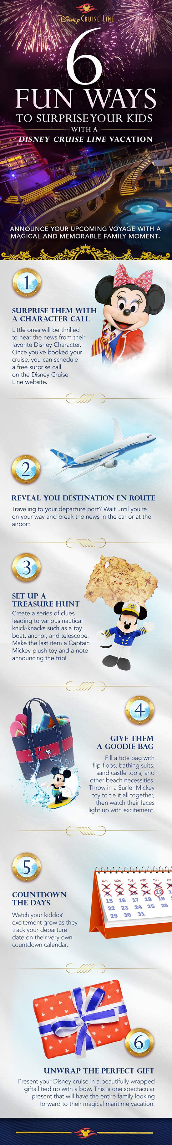 Six Fun Ways To Surprise Your Kids With A Disney Cruise Disney - Toy disney cruise ship