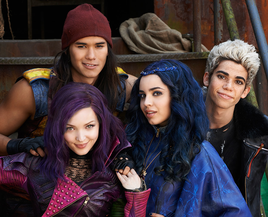 See the Stars of Disney's 'Descendants' in the Downtown ...