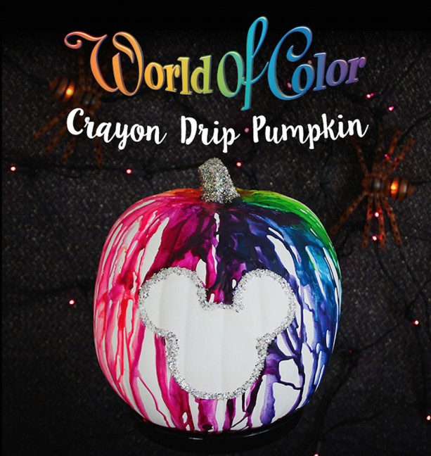 looking for a way to add some color to your halloween try this world of color inspired pumpkin click here for detailed step by step instructions - Color Of Halloween