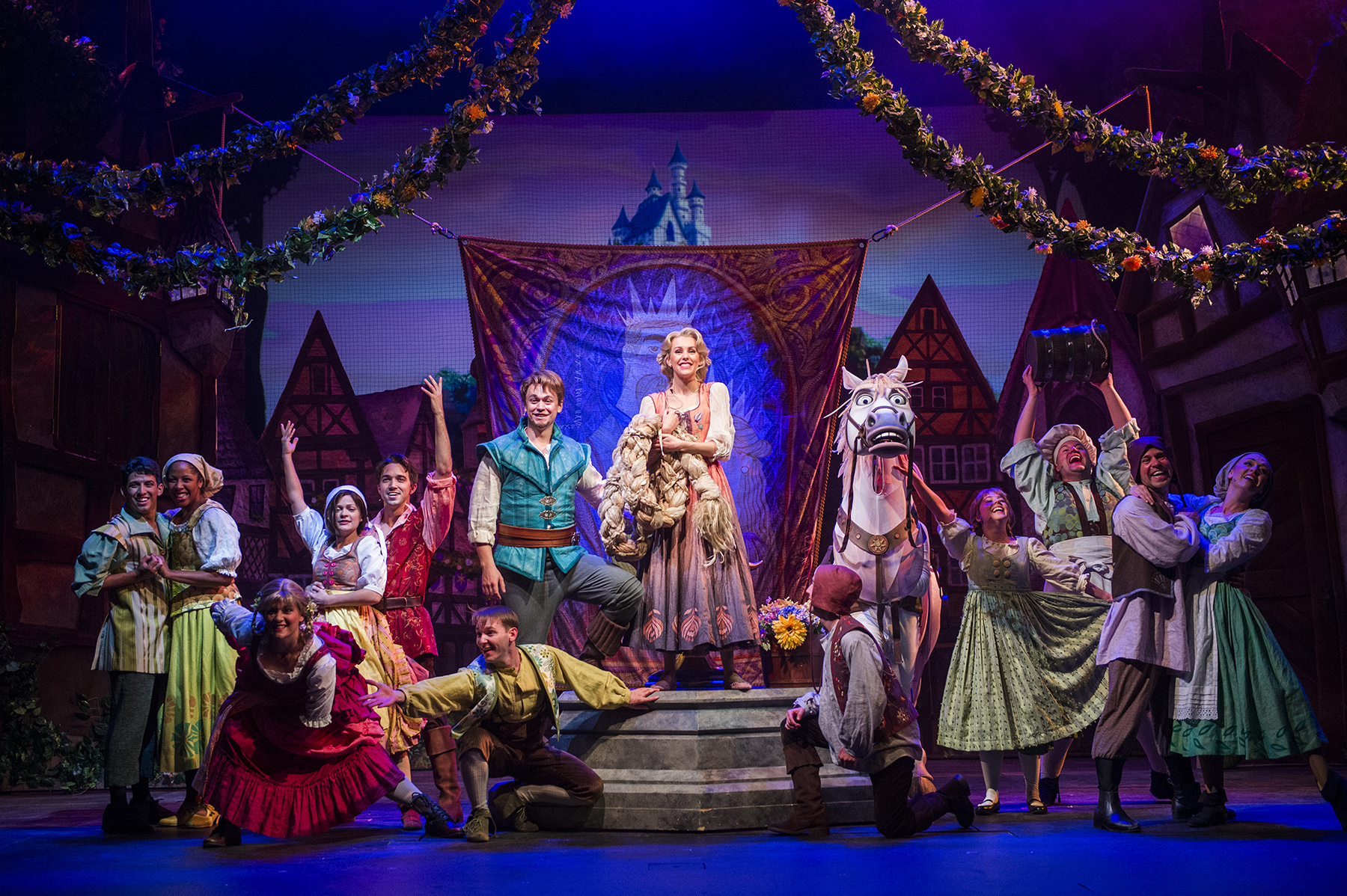 VIDEO: Watch A Sneak Peek Of 'Tangled: The Musical'