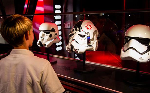 Star Wars Launch Bay at Disneyland Park