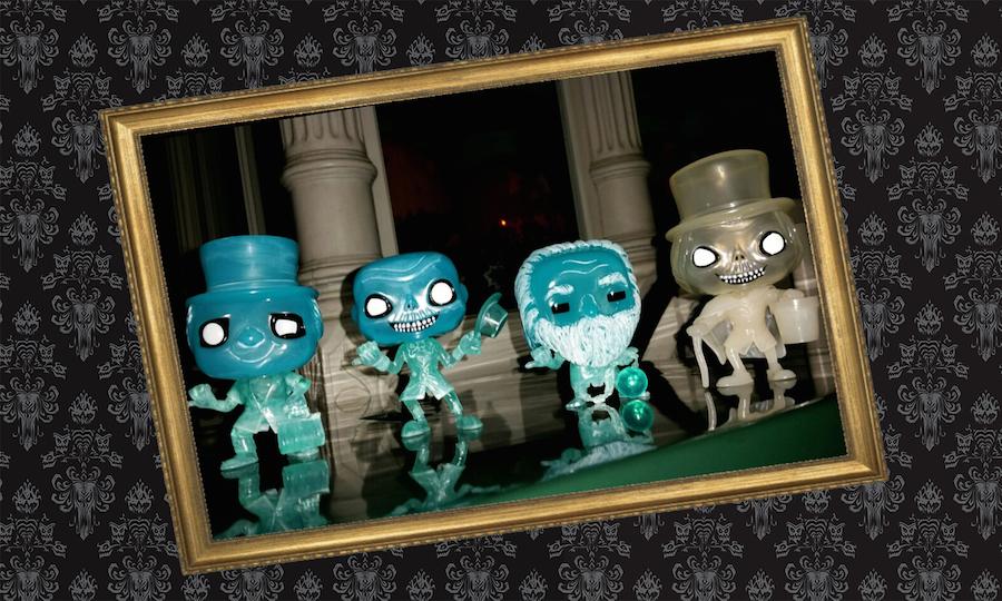 Haunted Mansion Funko Pop! Figures Debut at Disney Parks ...