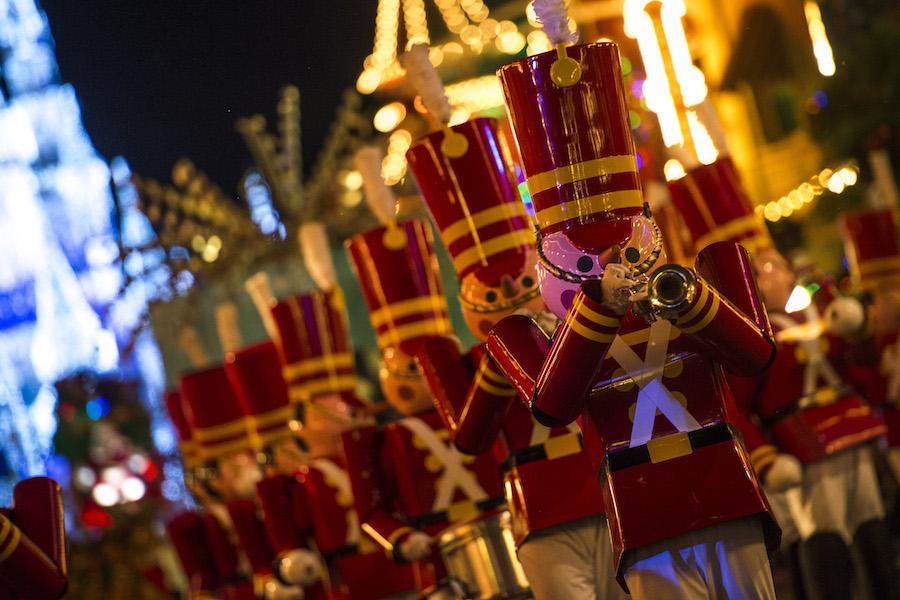 Mickey's Once Upon a Christmastime Parade at Magic Kingdom Park