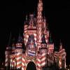 Cinderella Castle Celebrates the Holidays