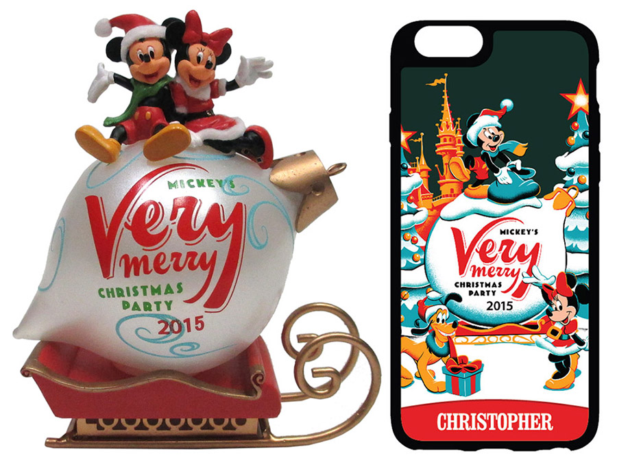 Commemorative Merchandise For Mickey's Very Merry Christmas Party ...