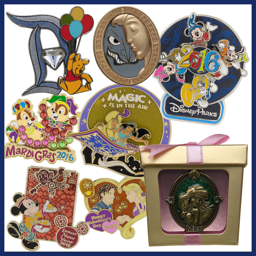Disney Pins: Look Ahead At New Pins Coming To Disney Parks In 2016
