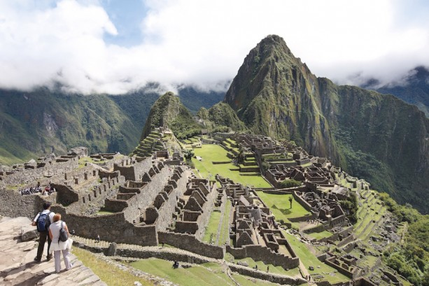 Machu Picchu view as seen on the Adventures by Disney Peru vacation