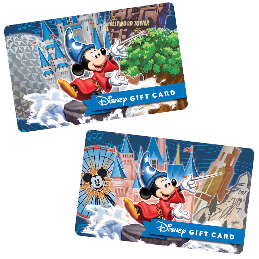 Ring in the New Year with New Disney Park-Themed Disney Gift Cards ...