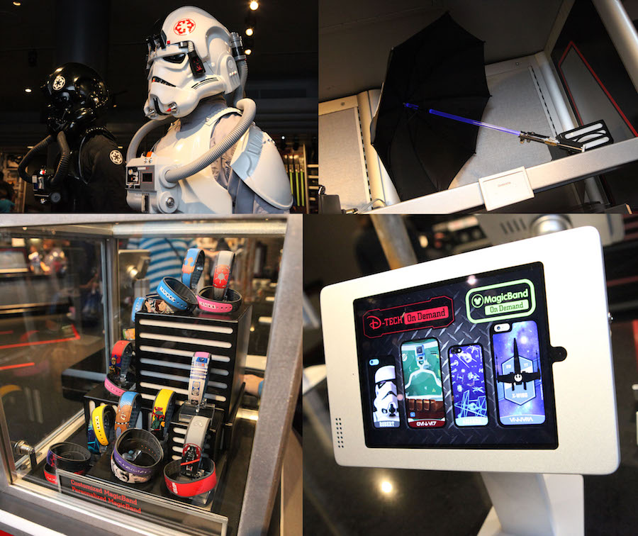 Star Wars Items Available at Launch Bay Cargo