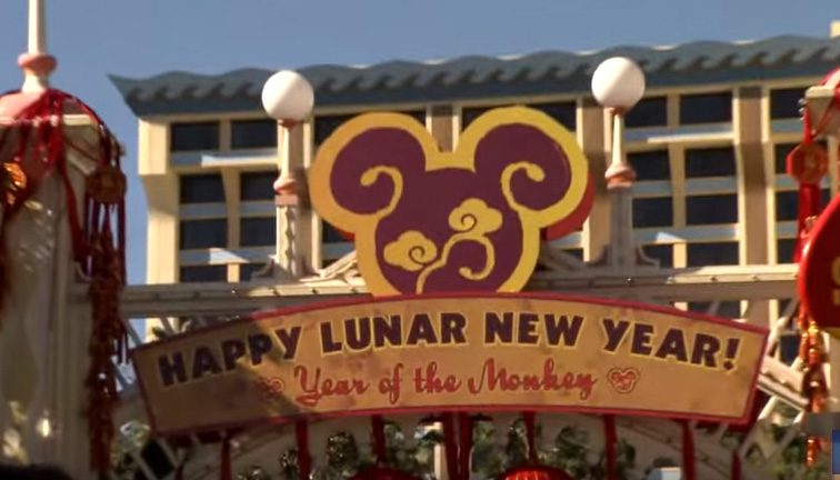 VIDEO: Join the Happy Lunar New Year Celebration at Disney California ...