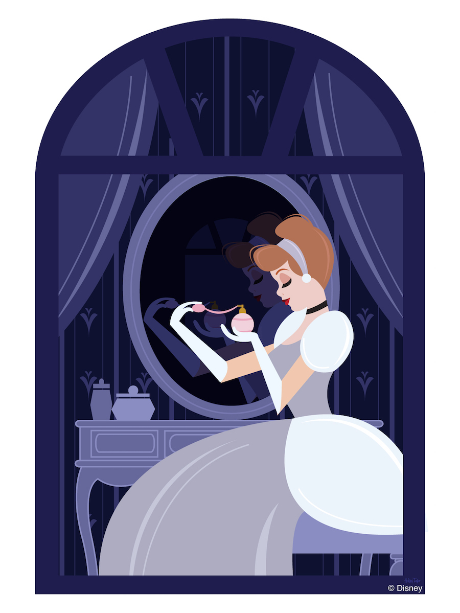 Disney Doodle: Cinderella Readies For The Ball