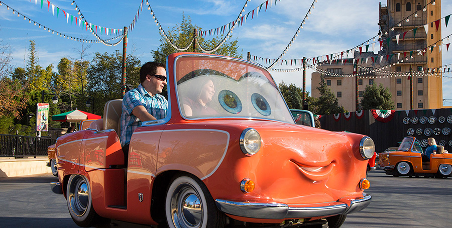 Luigi's Rollickin' Roadsters at Disney California Adventure Park
