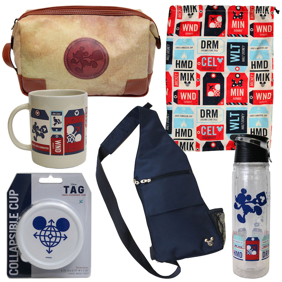 Travel Essentials called Disney Travel-Accessories-Gear (TAG) Coming to Disney Springs in March 2016