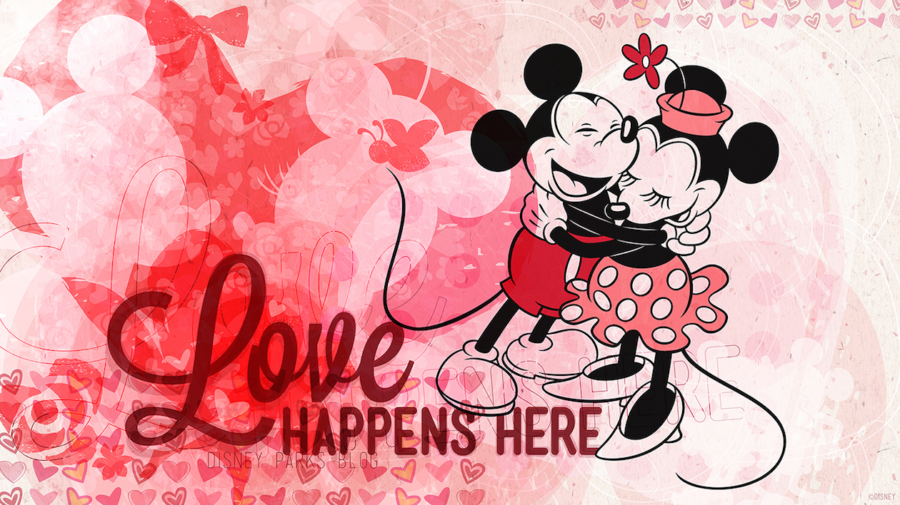 Disney Valentine Backgrounds Free