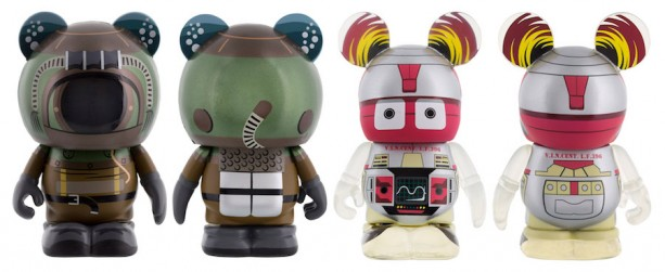 V.I.N.Cent and Diver Figure from '20,000 Leagues Under the Sea' Vinylmations Coming to the New Vinylmation Movieland Series