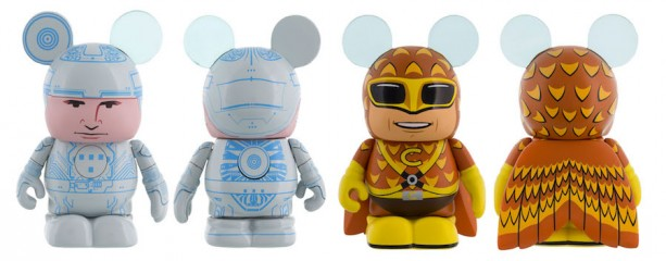 Tron and Condorman Vinylmations Coming to the New Vinylmation Movieland Series