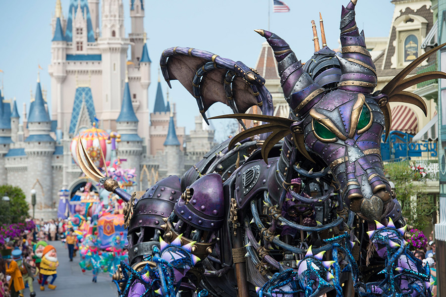 VIP viewing of the Festival of Fantasy Parade with Adventures by Disney