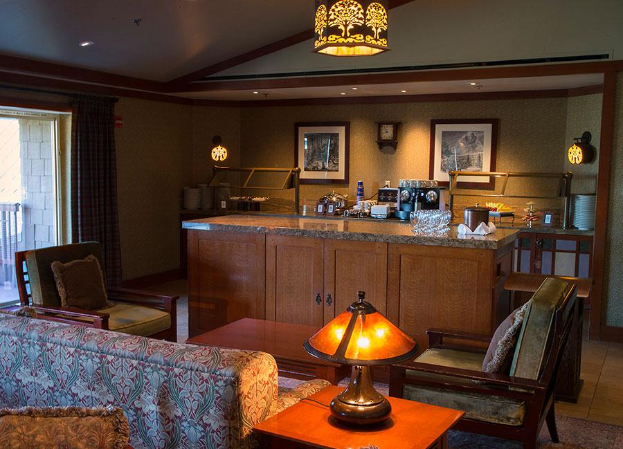 Club Level Service At Disney S Grand Californian Hotel