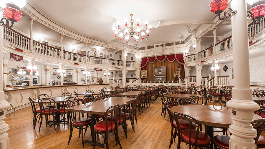 TableService Dining Coming To The Diamond Horseshoe In Magic - Walt disney world table service restaurants