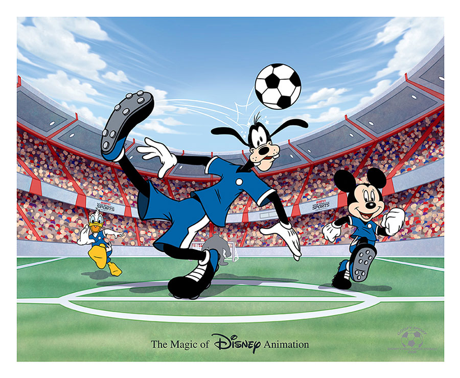 Ink & Paint Cel Goofy Sport Available at Disney's Hollywood Studios