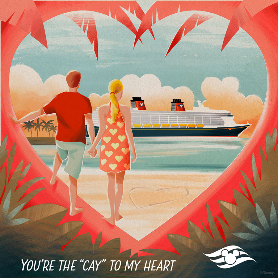 Download Disney Cruise Line Valentines Day ECards – On Line Valentine Cards