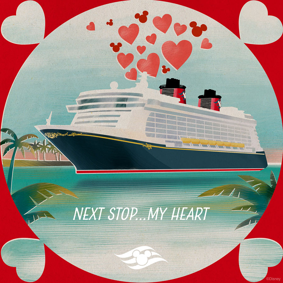 Download Disney Cruise Line Valentine S Day E Cards Disney Parks Blog