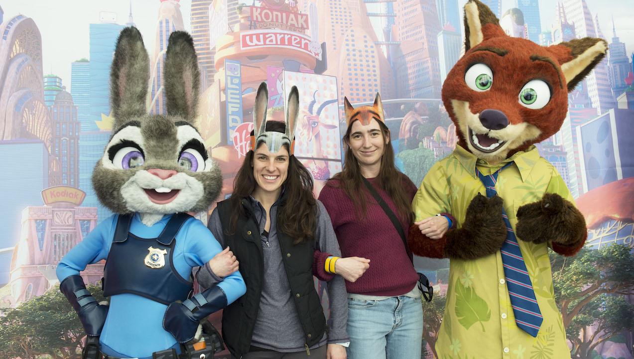 Disney Parks Blog Readers Applaud 'Zootopia' At Meet-Up