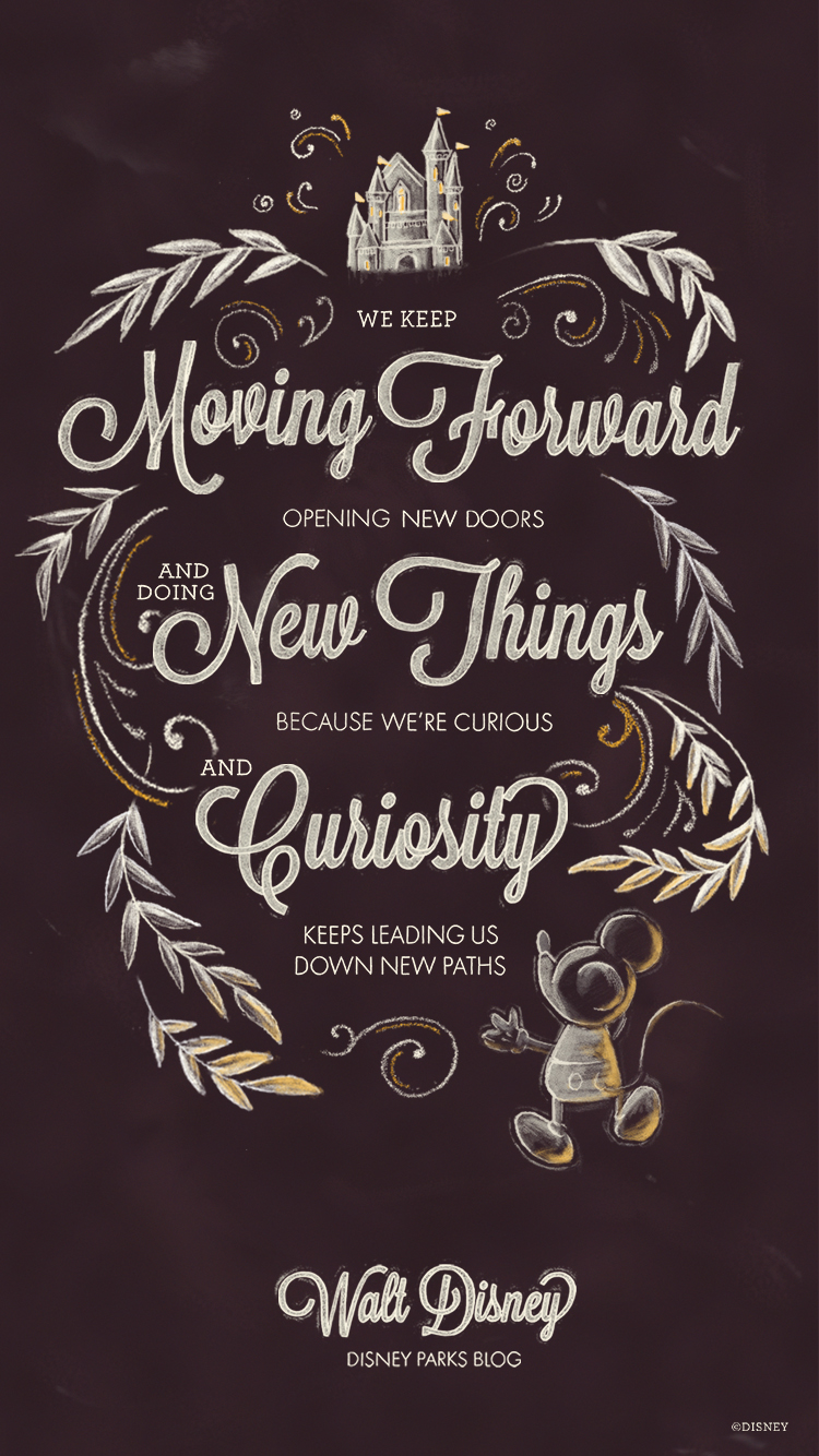 Exclusive: Walt Disney Desktop/Mobile Wallpaper | Disney ...