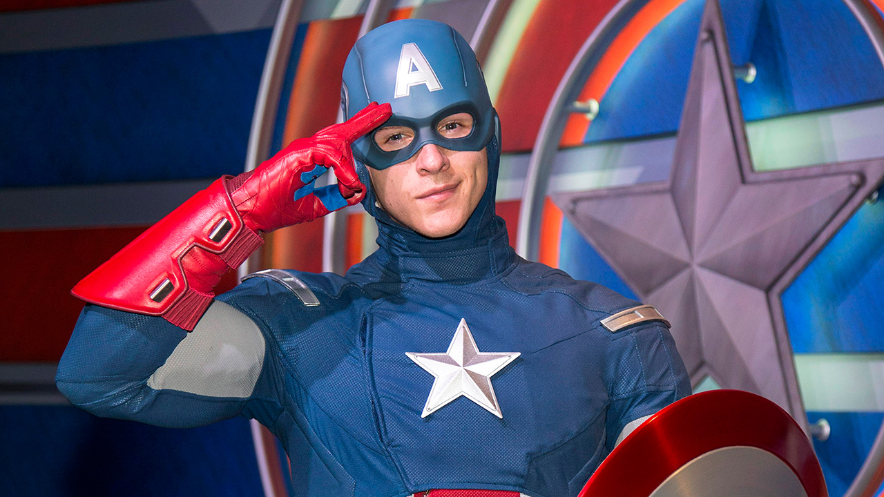 Captain America and Spider-Man Come to Disney California Adventure Park April 3