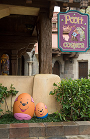 Kanga and Roo in the Disney Character Egg Hunt at Hong Kong Disneyland