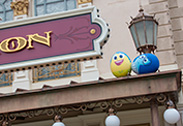Inside Out in the Disney Character Egg Hunt at Hong Kong Disneyland