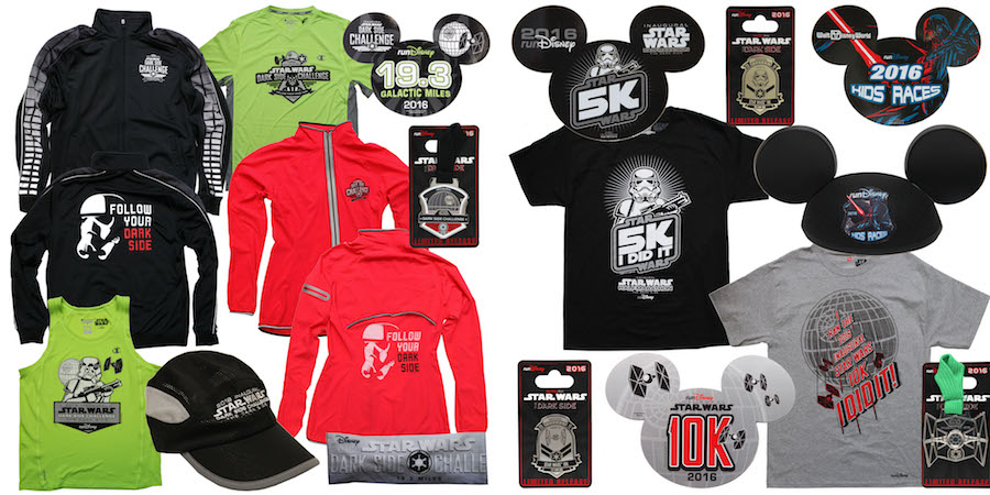 First Look at Commemorative Products for Star Wars Half Marathon – The Dark Side in April 2016