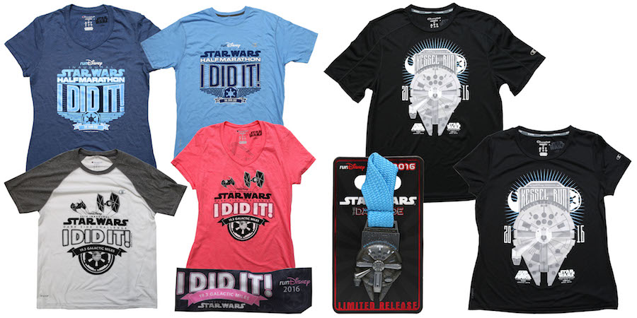 First Look at 'I Did It' Products for Star Wars Half Marathon – The Dark Side in April 2016