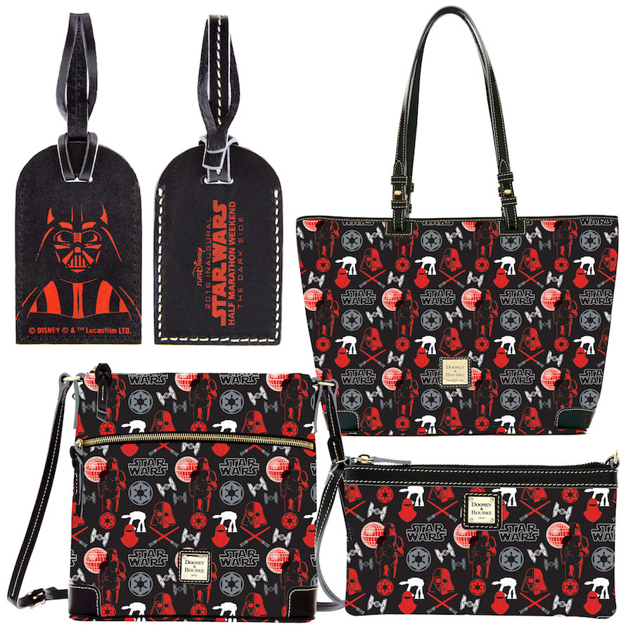 First Look at New Dooney & Bourke Handbags for Star Wars Half Marathon – The Dark Side in April 2016